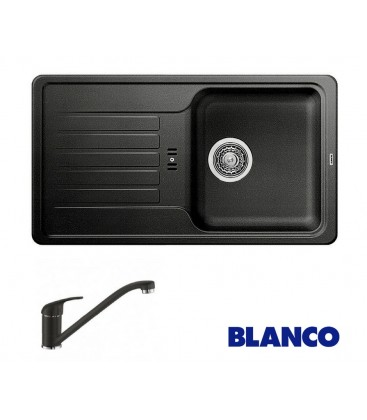 PACHET CHIUVETA BLANCO FAVOS MINI + ROBINET BLANCO DARAS