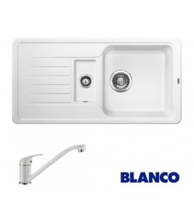 PACHET CHIUVETA BLANCO FAVOS 6 S + BATERIE BLANCO DARAS