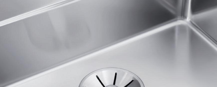 BLANCO  InFino  ® Sistemul  de  scurgere  perfect  integrat