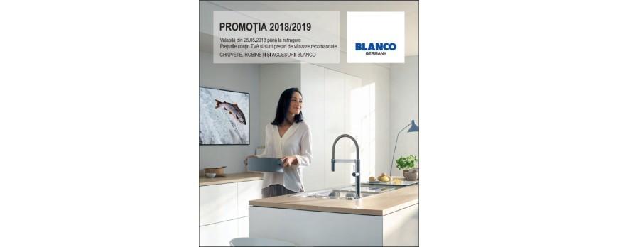 PROMOTII chiuvete si baterii Blanco Germania 2018-2019